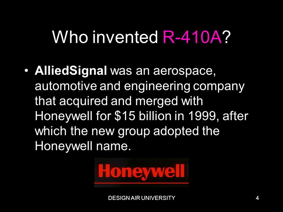 Who invented R-410A