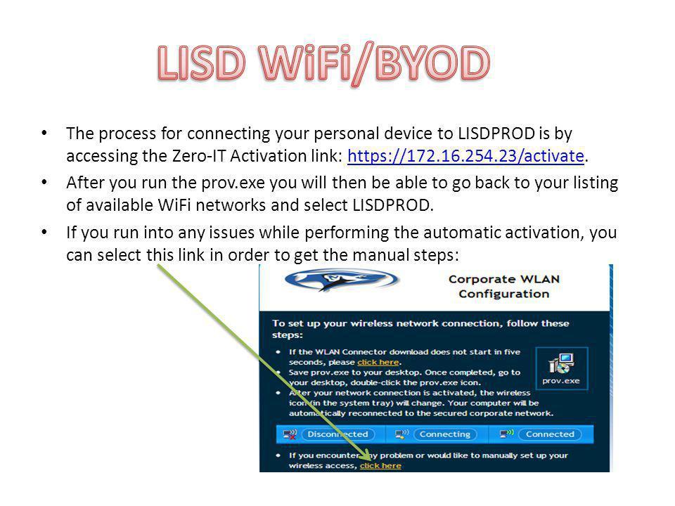 LISD WiFi/BYOD