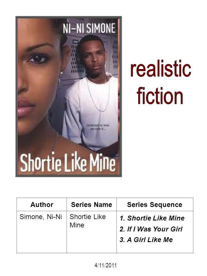 realistic fiction Author Series Name Series Sequence Simone, Ni-Ni