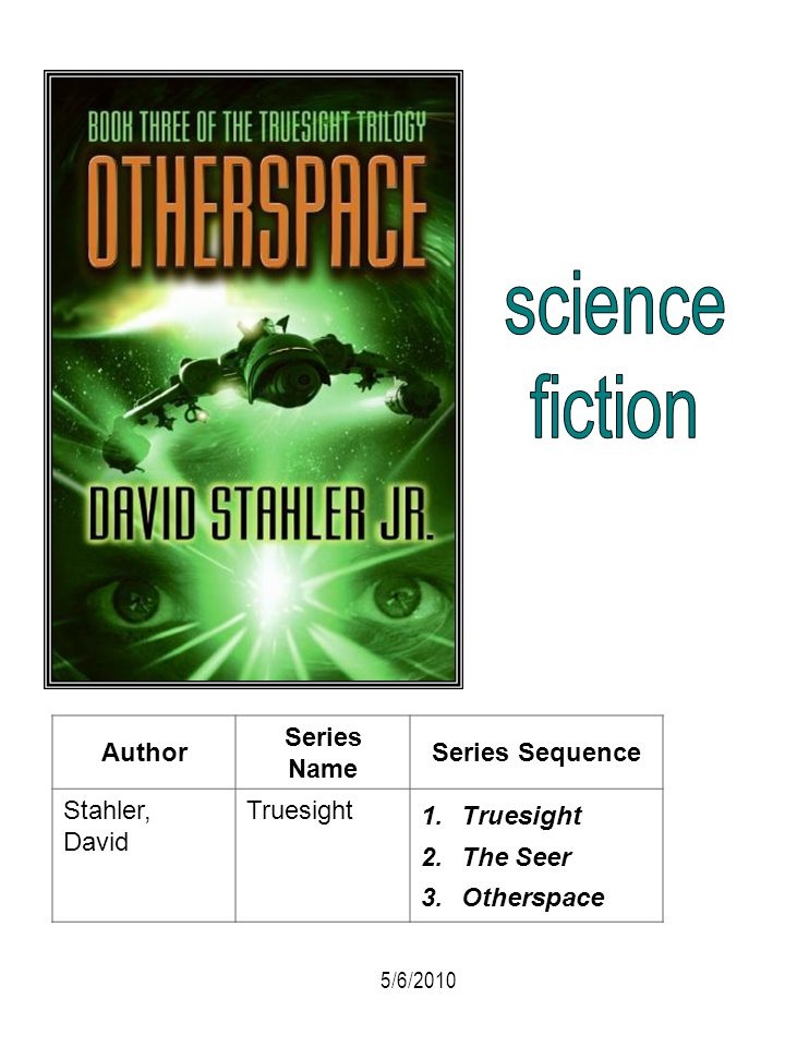 science fiction Author Series Name Series Sequence Stahler, David