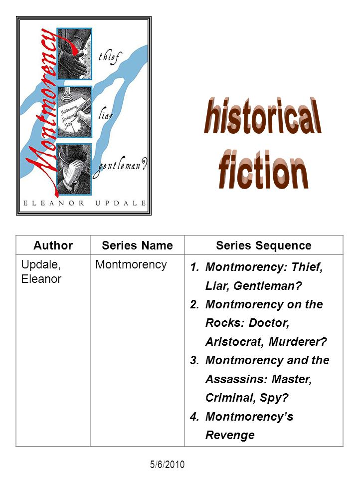 historical fiction Author Series Name Series Sequence Updale, Eleanor