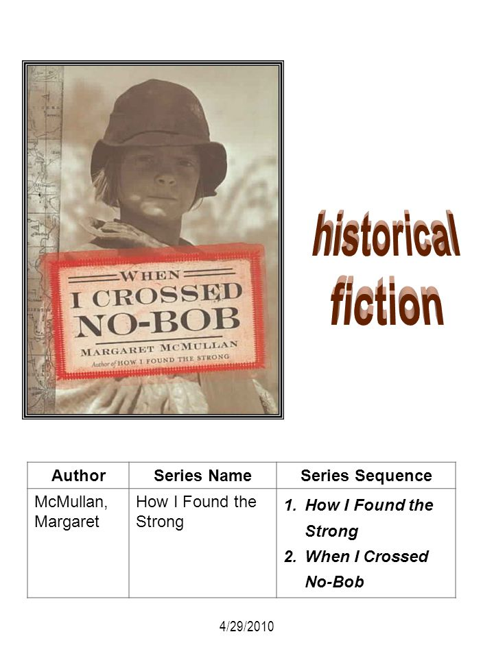 historical fiction Author Series Name Series Sequence