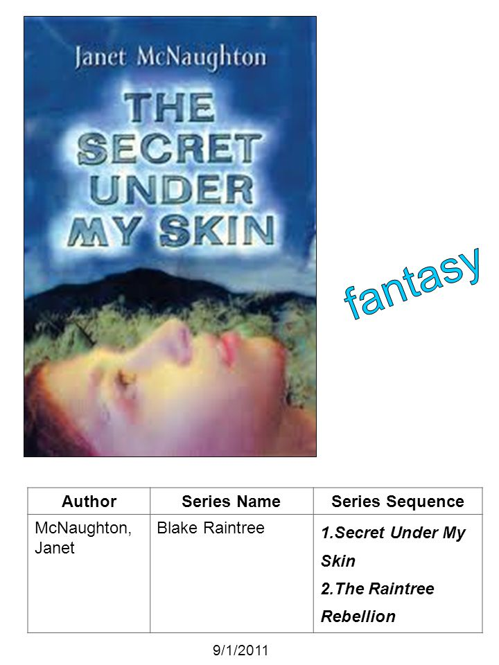 fantasy Author Series Name Series Sequence McNaughton, Janet