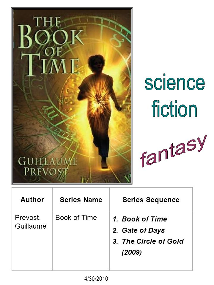 science fiction fantasy Author Series Name Series Sequence