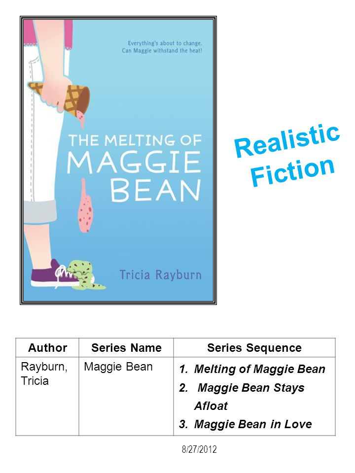 Realistic Fiction Author Series Name Series Sequence Rayburn, Tricia