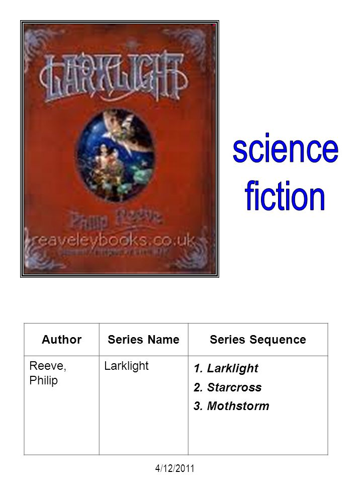 science fiction Author Series Name Series Sequence Reeve, Philip