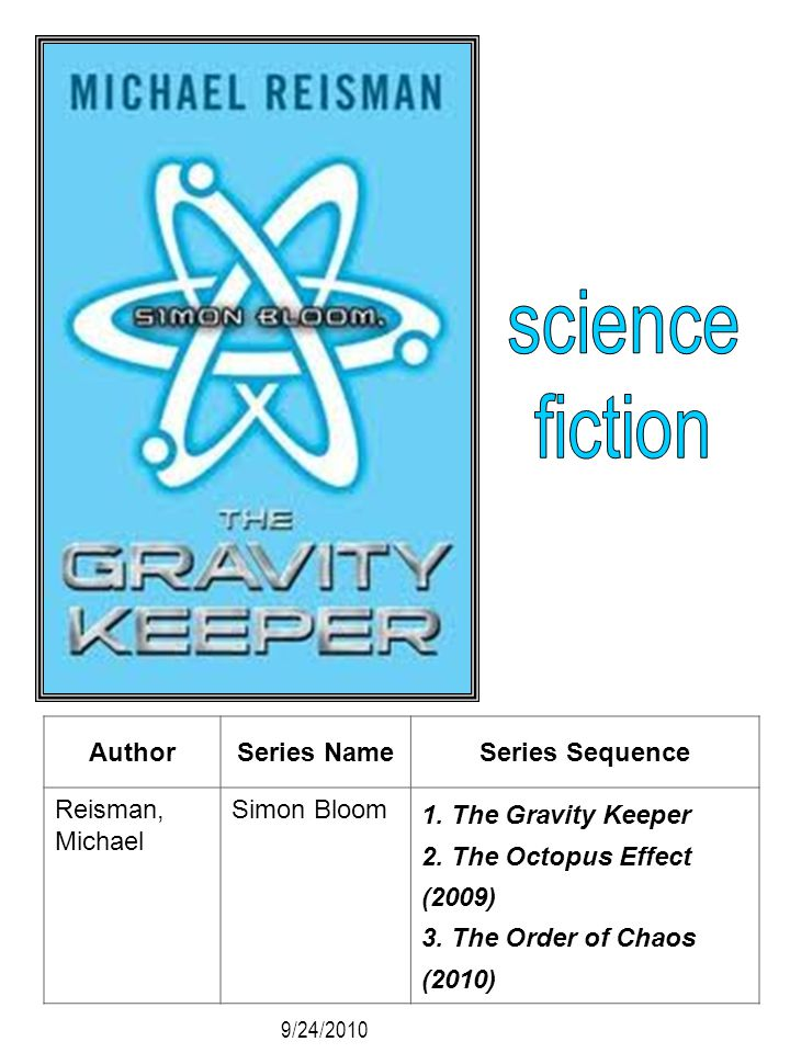 science fiction Author Series Name Series Sequence Reisman, Michael