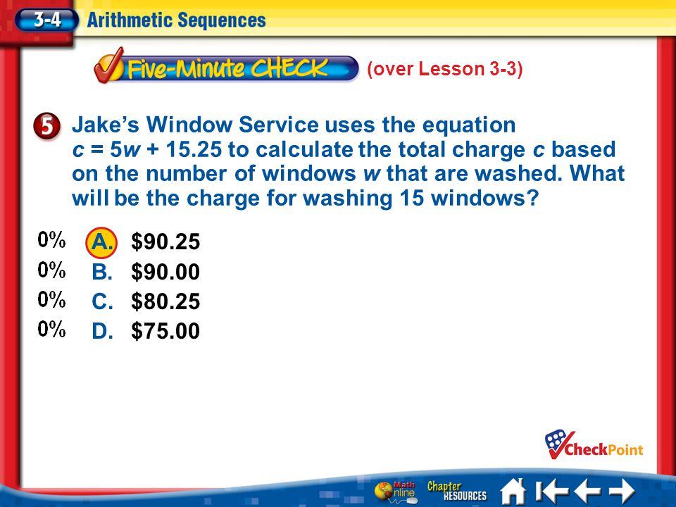 (over Lesson 3-3)