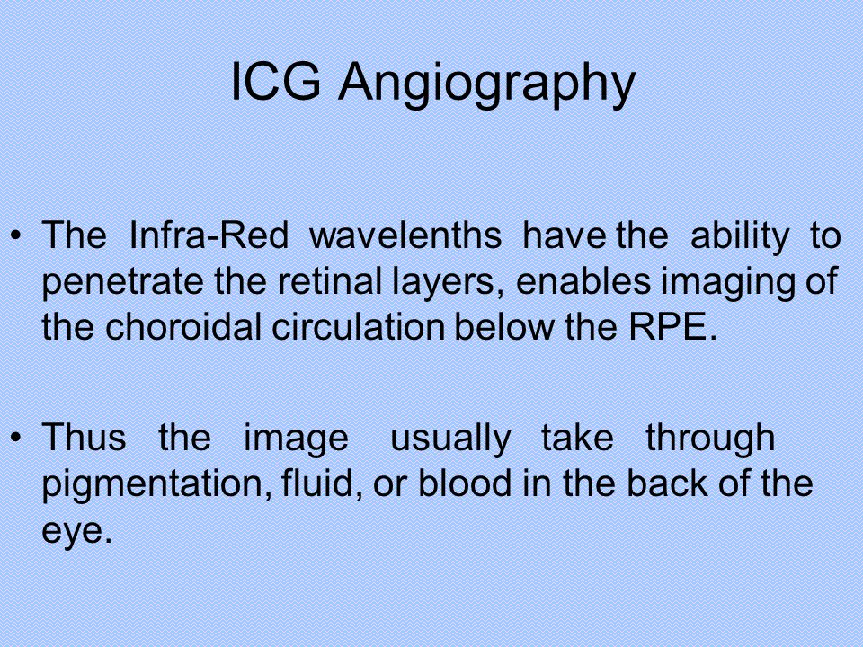 ICG Angiography