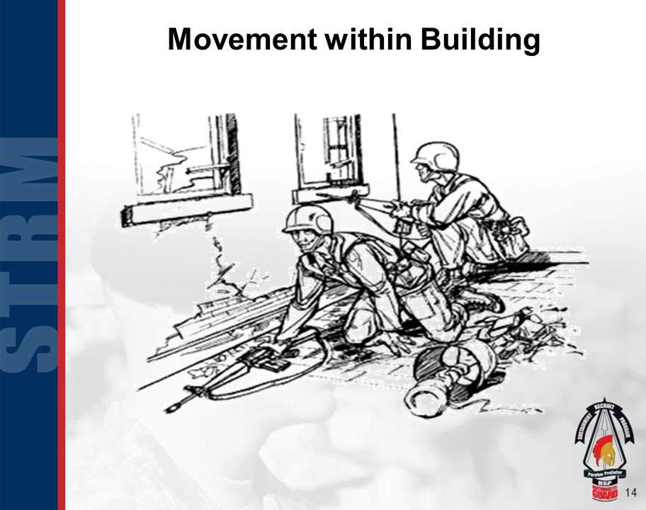 Movement within Building
