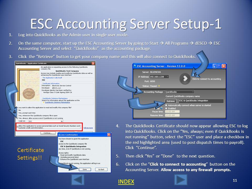 ESC Accounting Server Setup-1