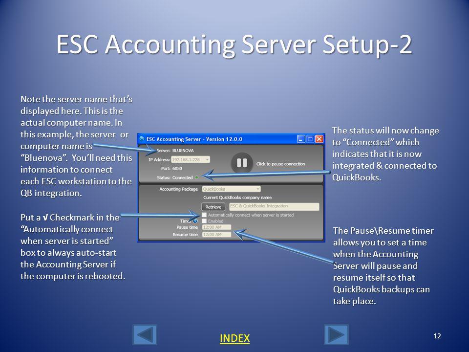 ESC Accounting Server Setup-2