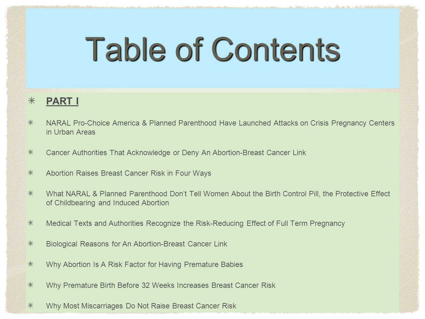 Table of Contents PART I