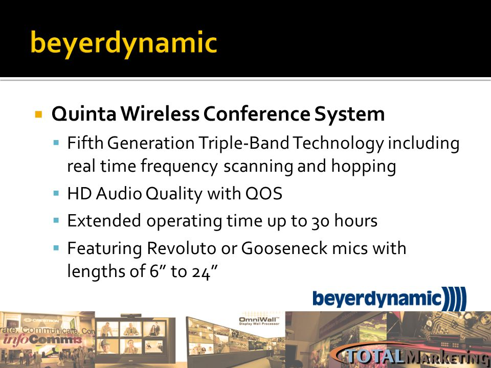 beyerdynamic Quinta Wireless Conference System