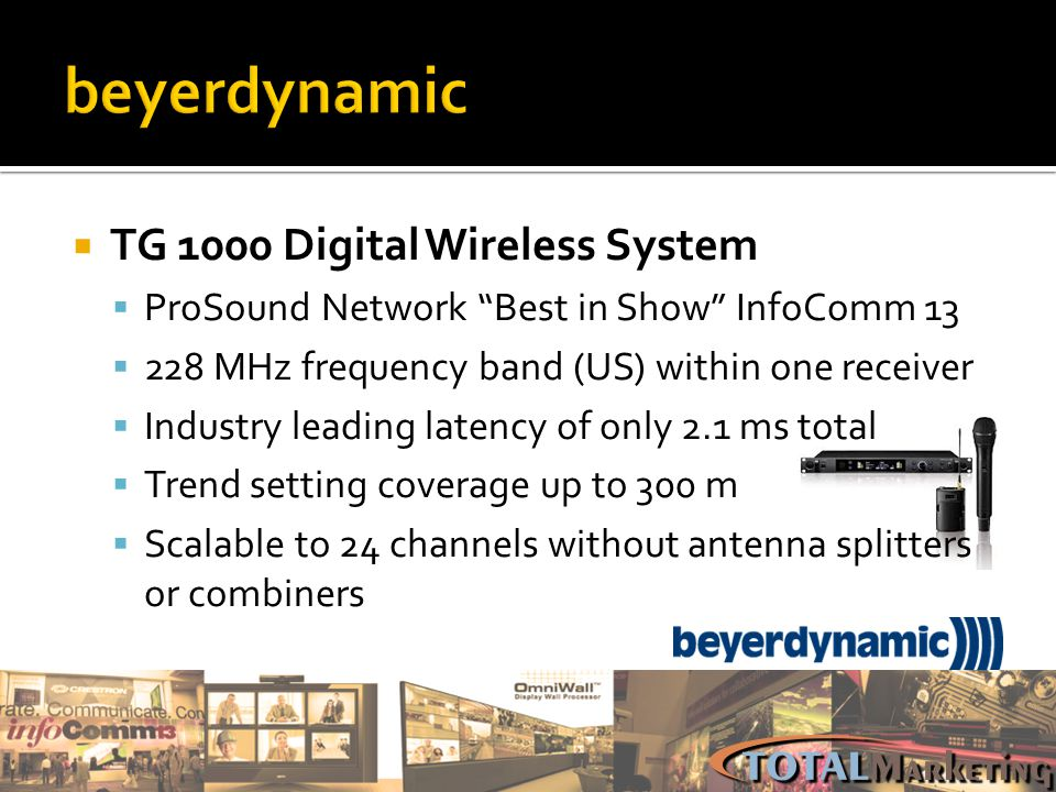 beyerdynamic TG 1000 Digital Wireless System