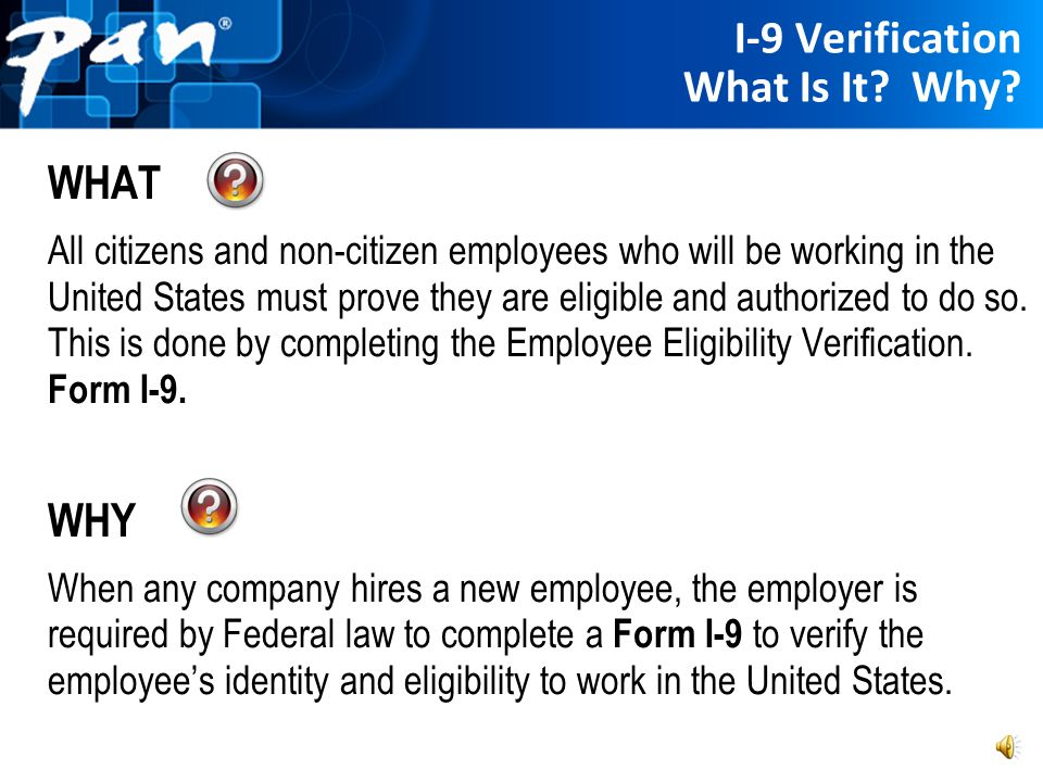 I-9 Verification What Is It Why