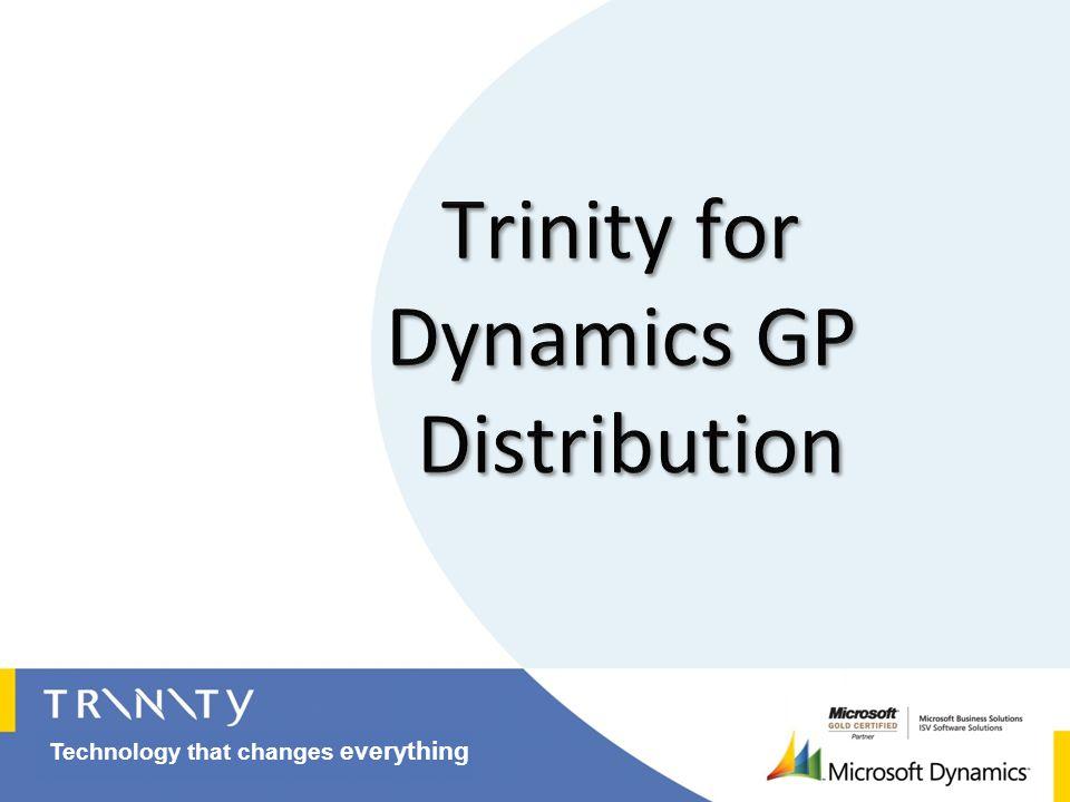 Trinity for Dynamics GP Distribution