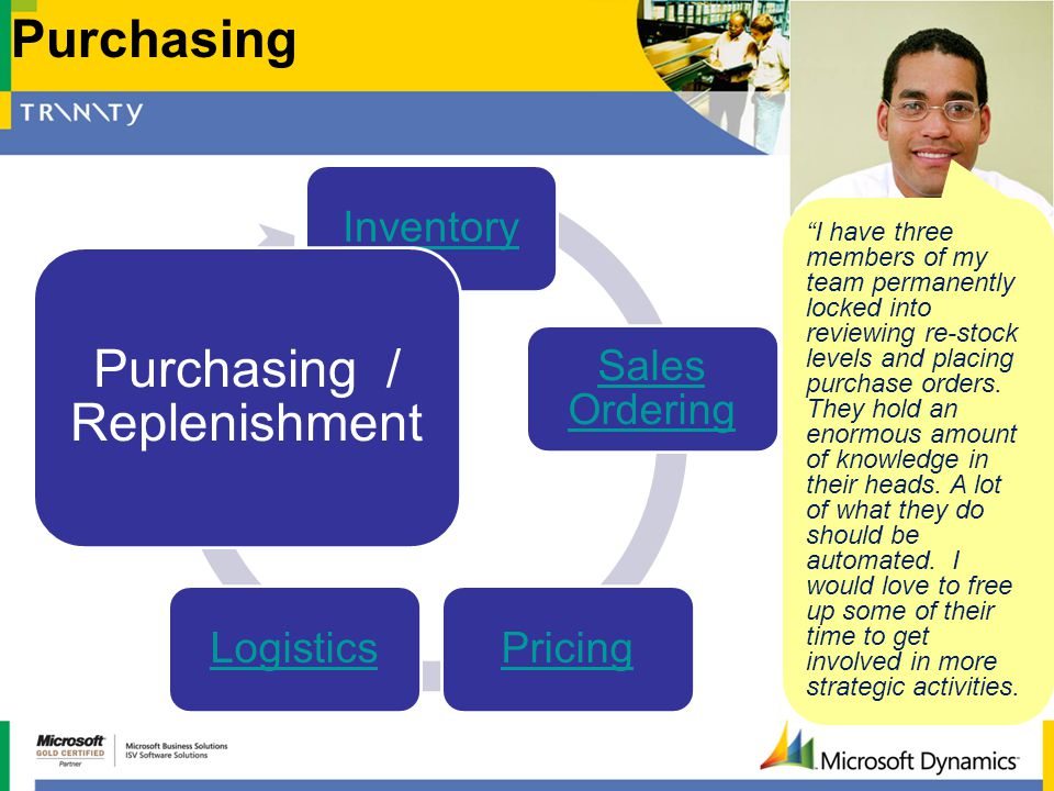 Purchasing / Replenishment