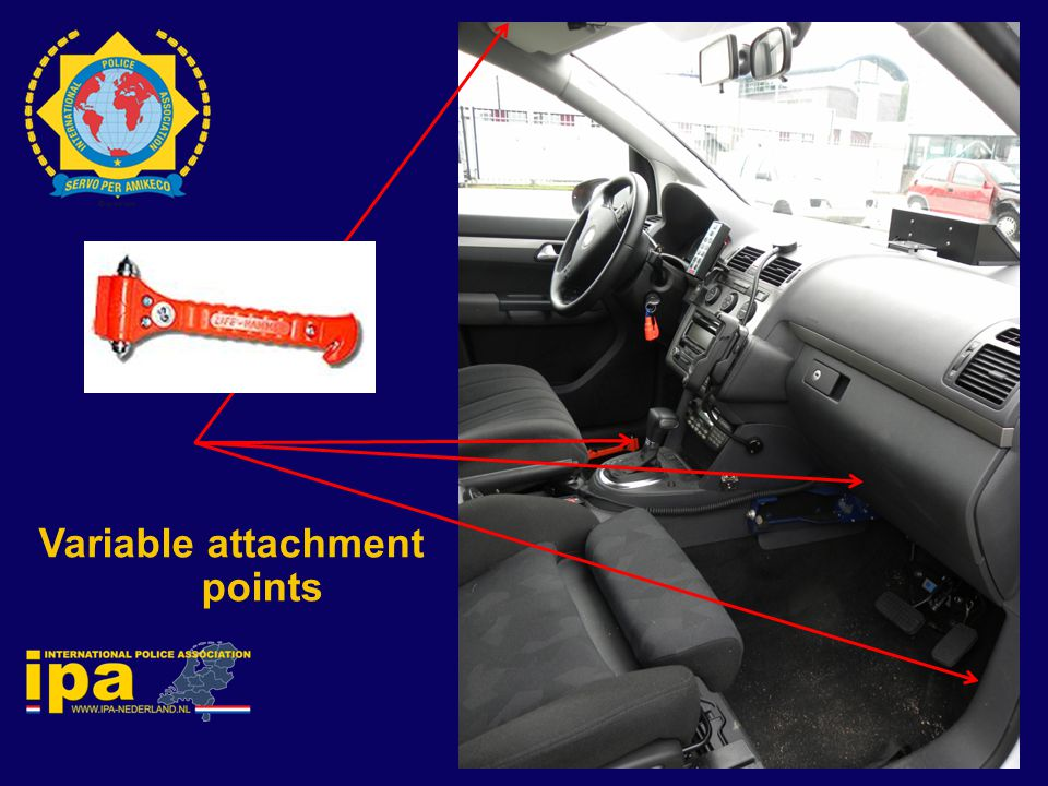 Variable attachment points