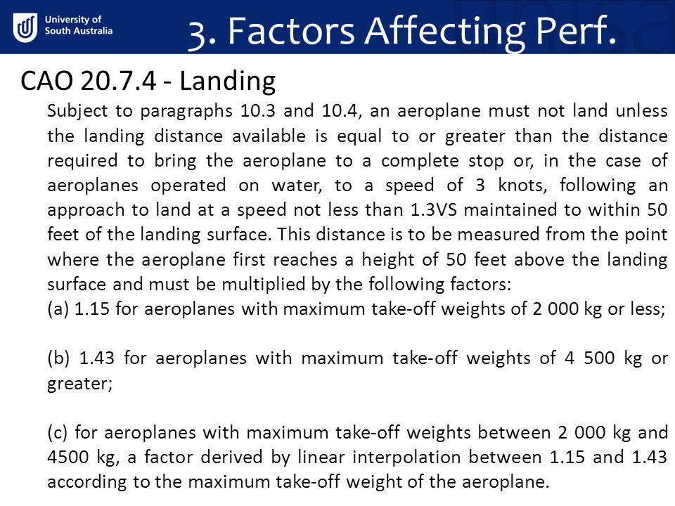 3. Factors Affecting Perf.