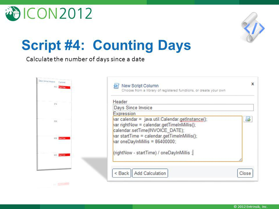 Script #4: Counting Days