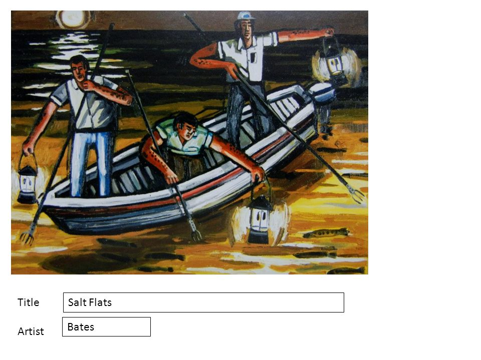 Title Artist Salt Flats Bates