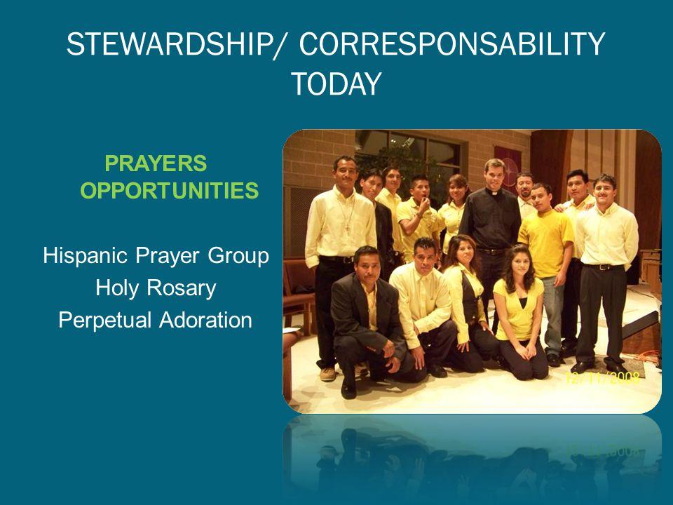 STEWARDSHIP/ CORRESPONSABILITY TODAY