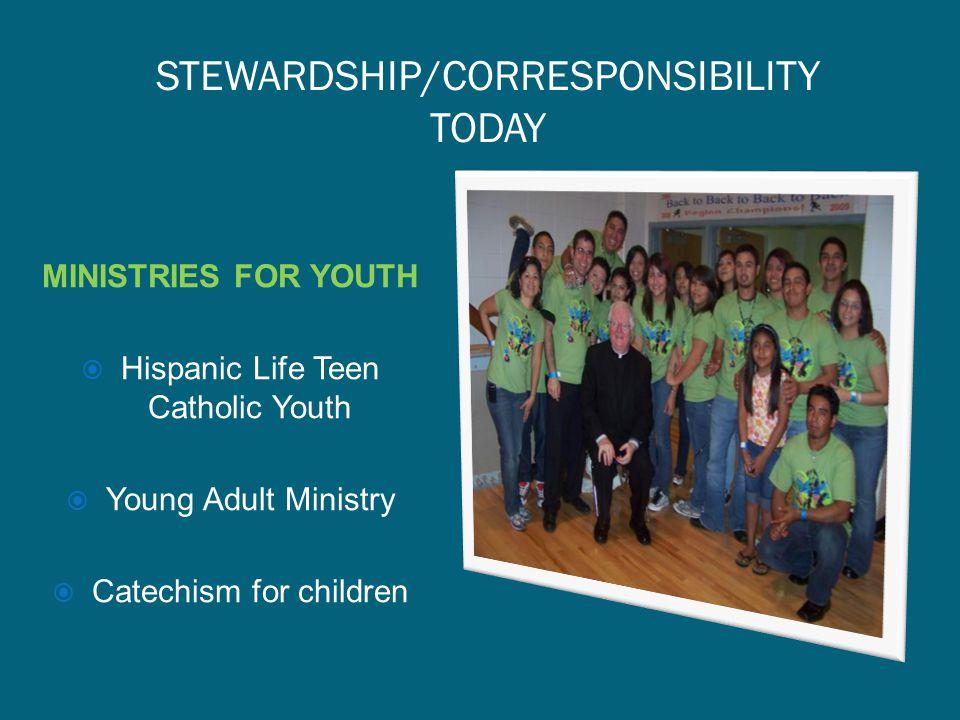 STEWARDSHIP/CORRESPONSIBILITY TODAY