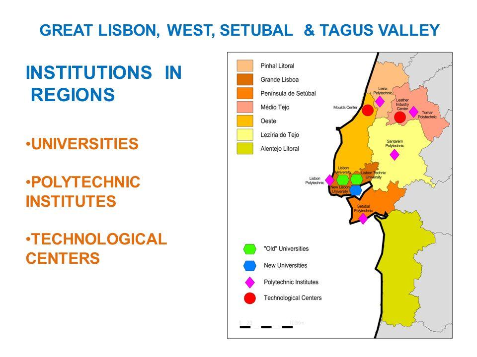 GREAT LISBON, WEST, SETUBAL & TAGUS VALLEY
