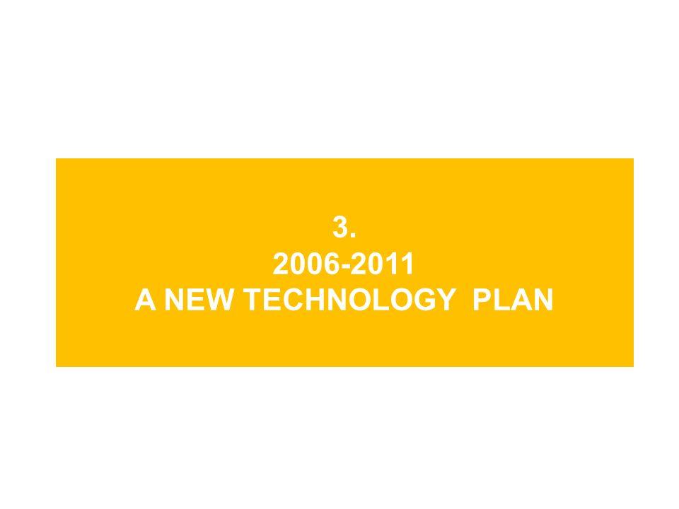 3. 2006-2011 A NEW TECHNOLOGY PLAN
