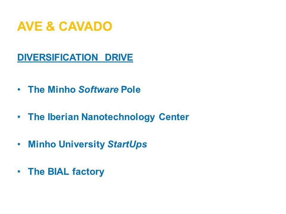 Ave & cavado diversification Drive The Minho Software Pole