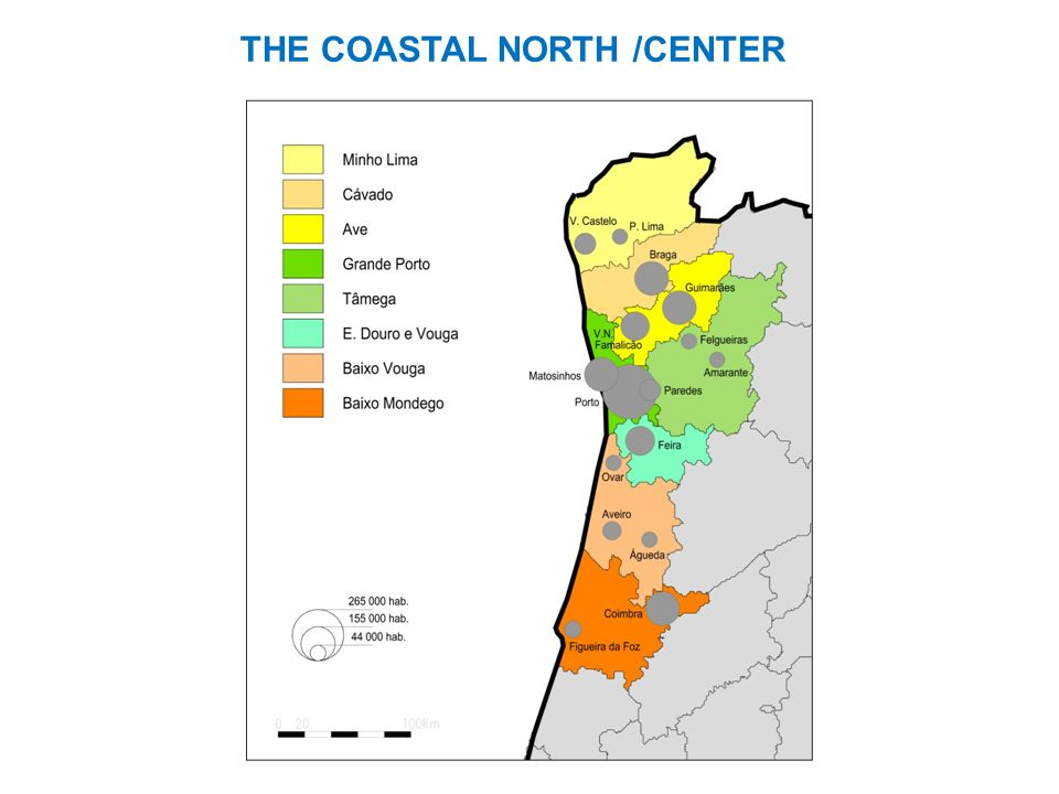 THE COASTAL NORTH /CENTER