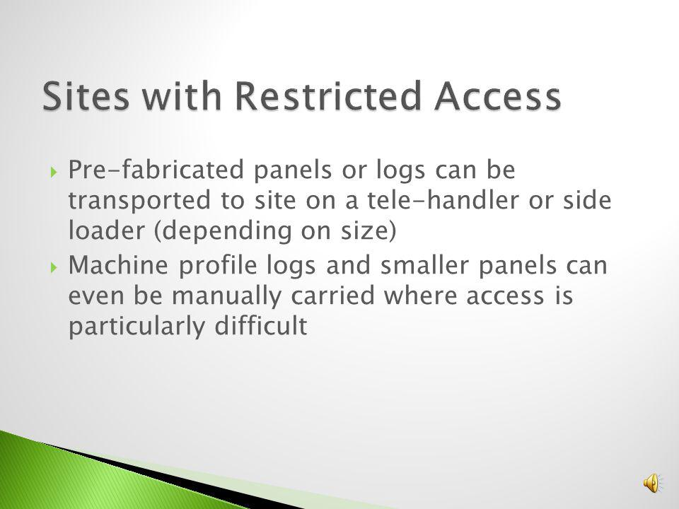 Sites with Restricted Access