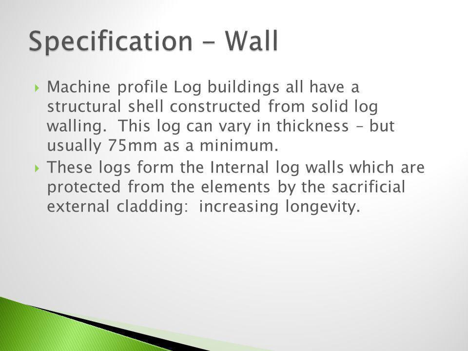 Specification - Wall