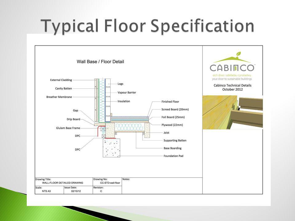 Typical Floor Specification