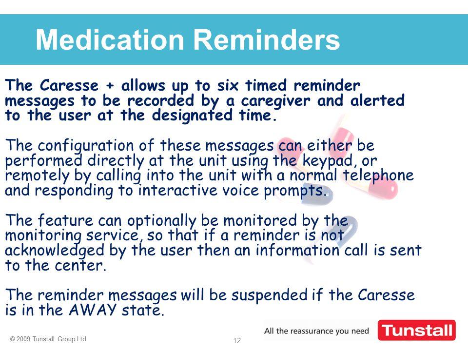 Medication Reminders
