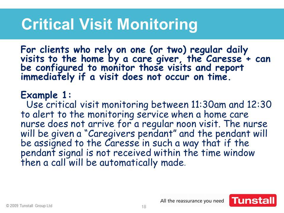 Critical Visit Monitoring