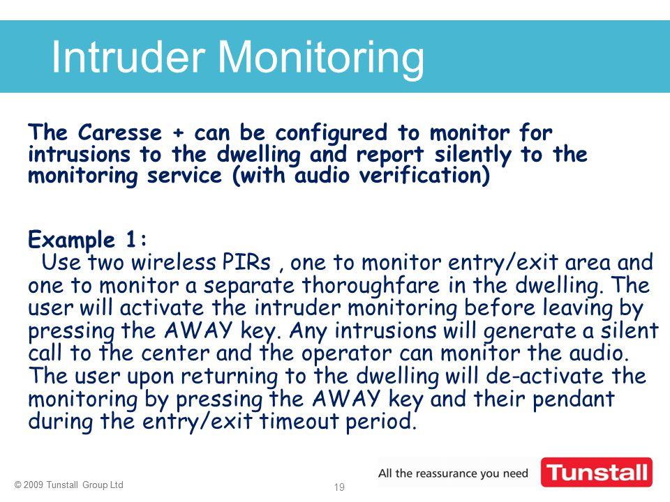 Intruder Monitoring