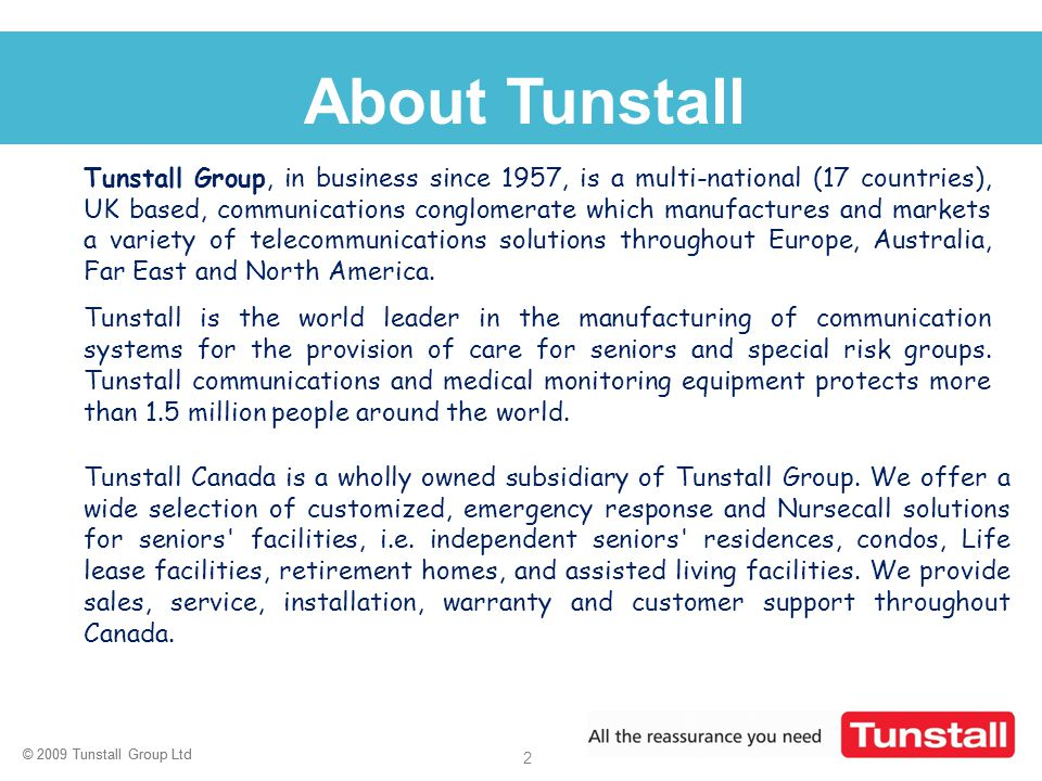 About Tunstall