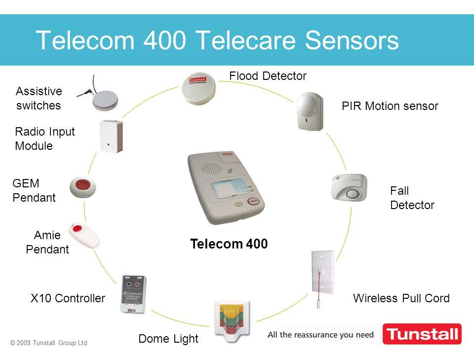 Telecom 400 Telecare Sensors