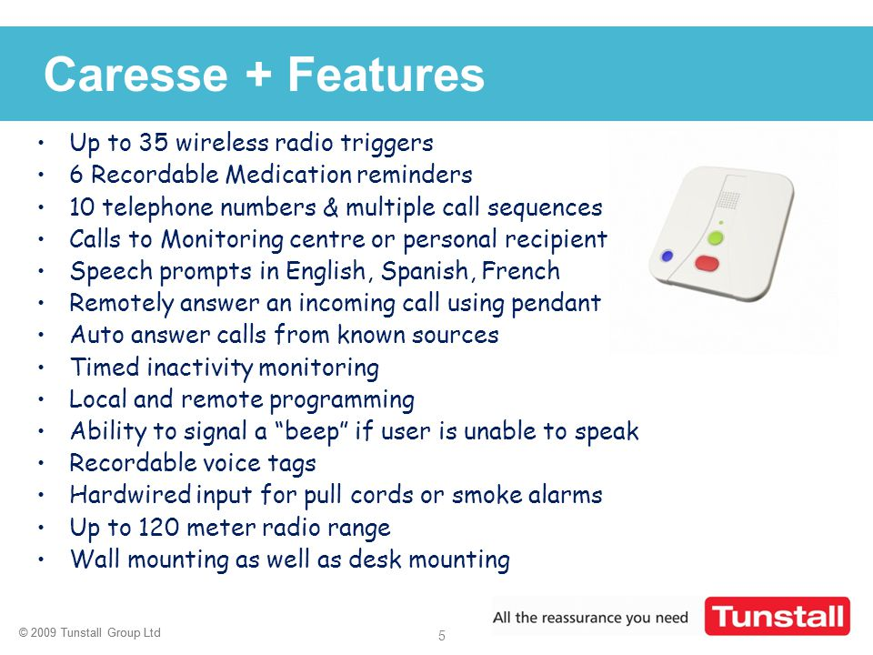 Caresse + Features Up to 35 wireless radio triggers