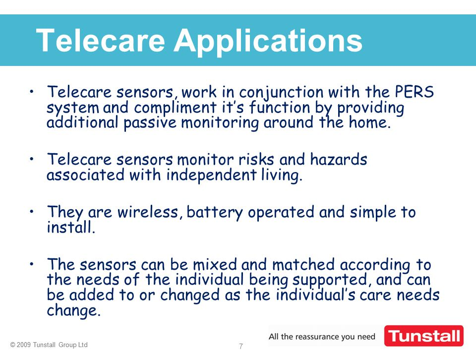 Telecare Applications