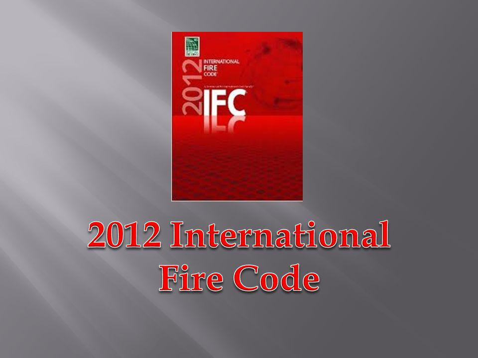 2012 International Fire Code