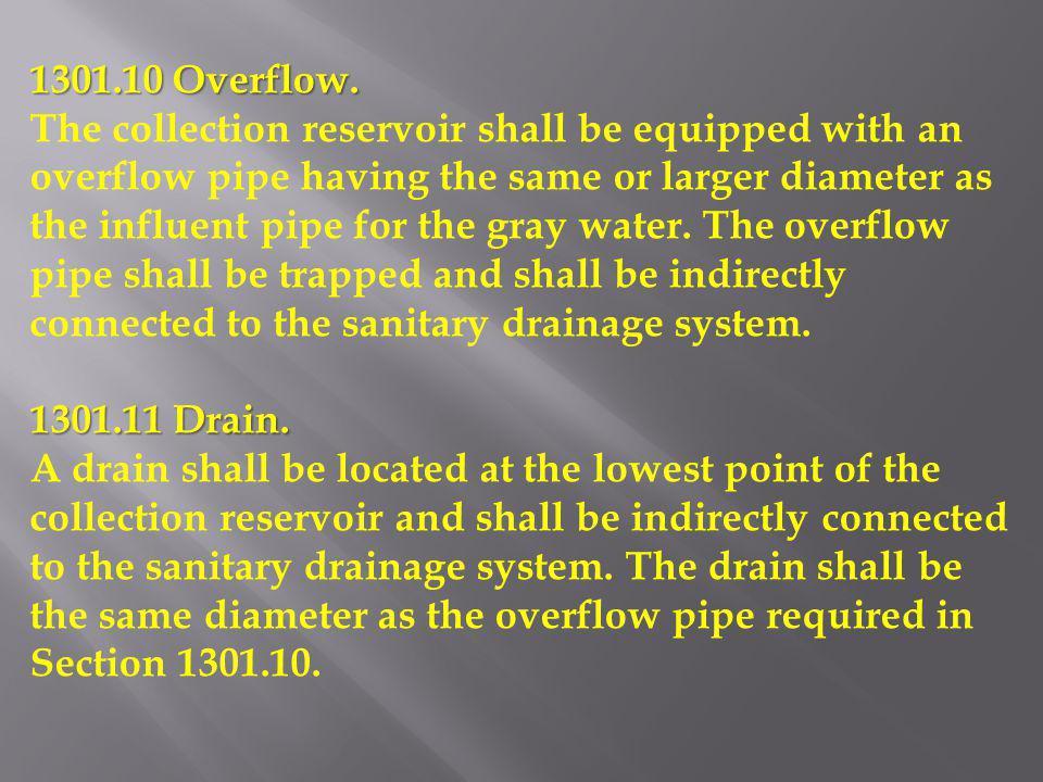 1301.10 Overflow.