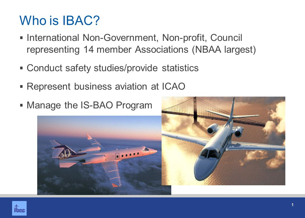 What is IS-BAO Professional code of practice