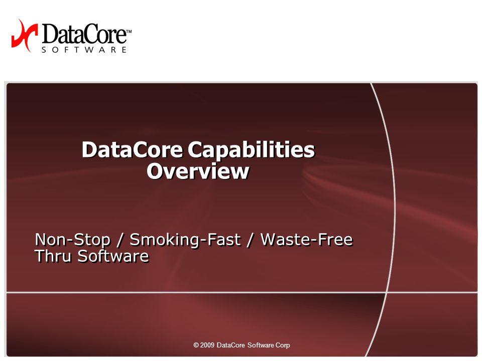 DataCore Capabilities Overview