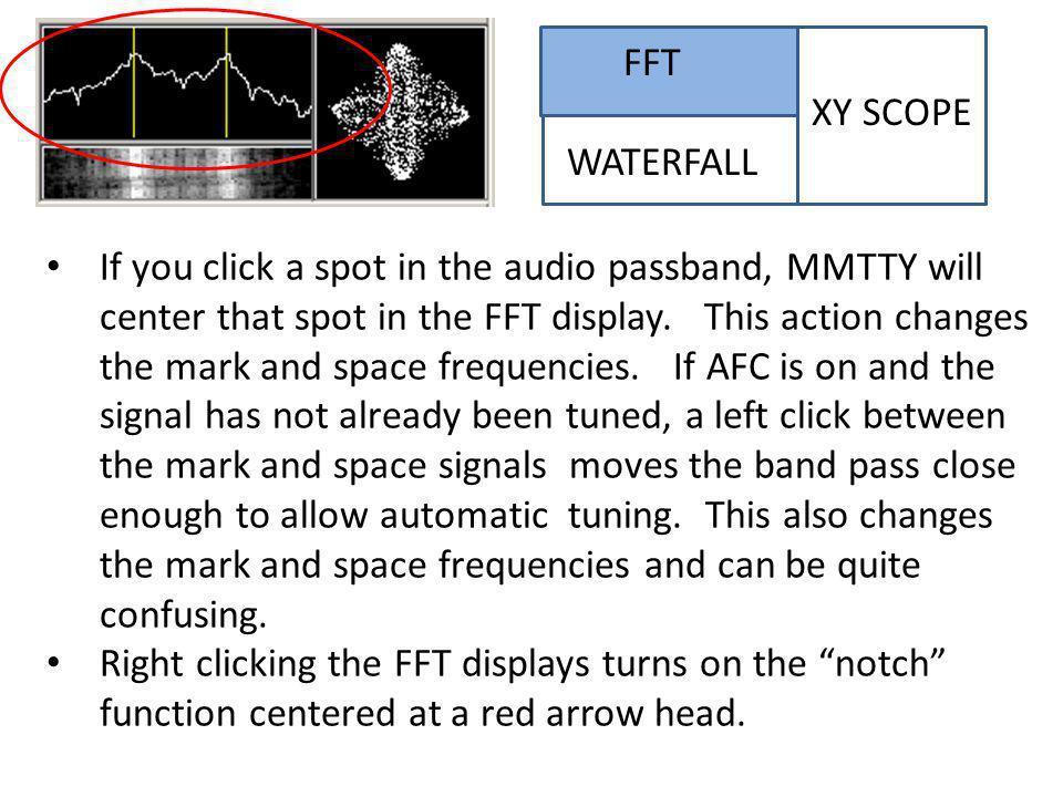 FFT XY SCOPE WATERFALL