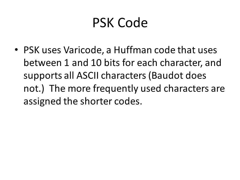 PSK Code