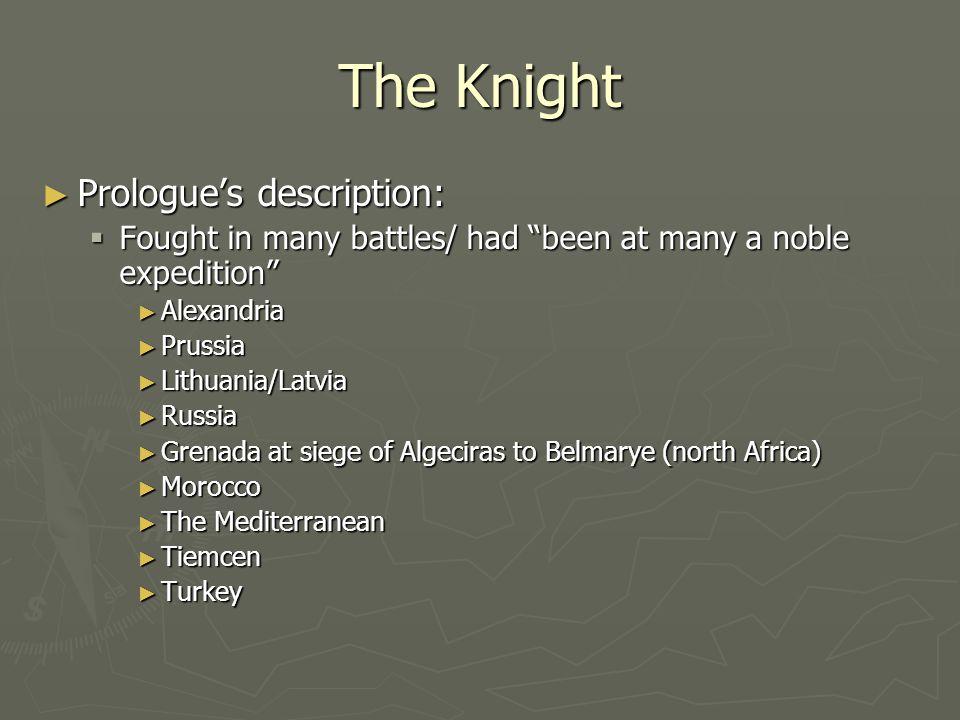 The Knight Prologue's description: