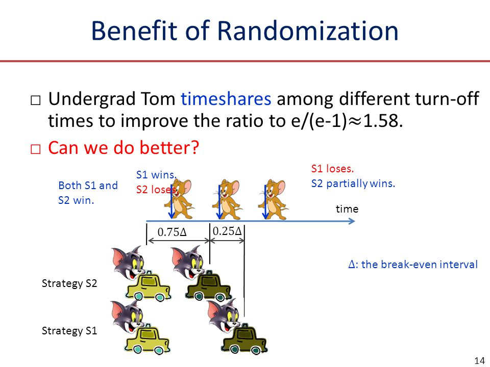 Benefit of Randomization